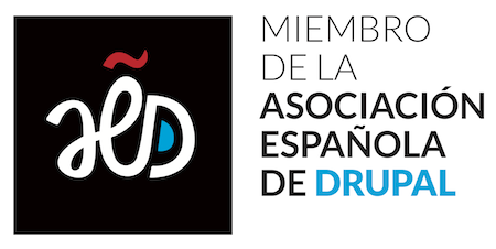 Miembro de la Asociación Española de Drupal