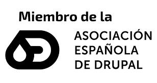 Miembro de la Asociación Española de Drupal