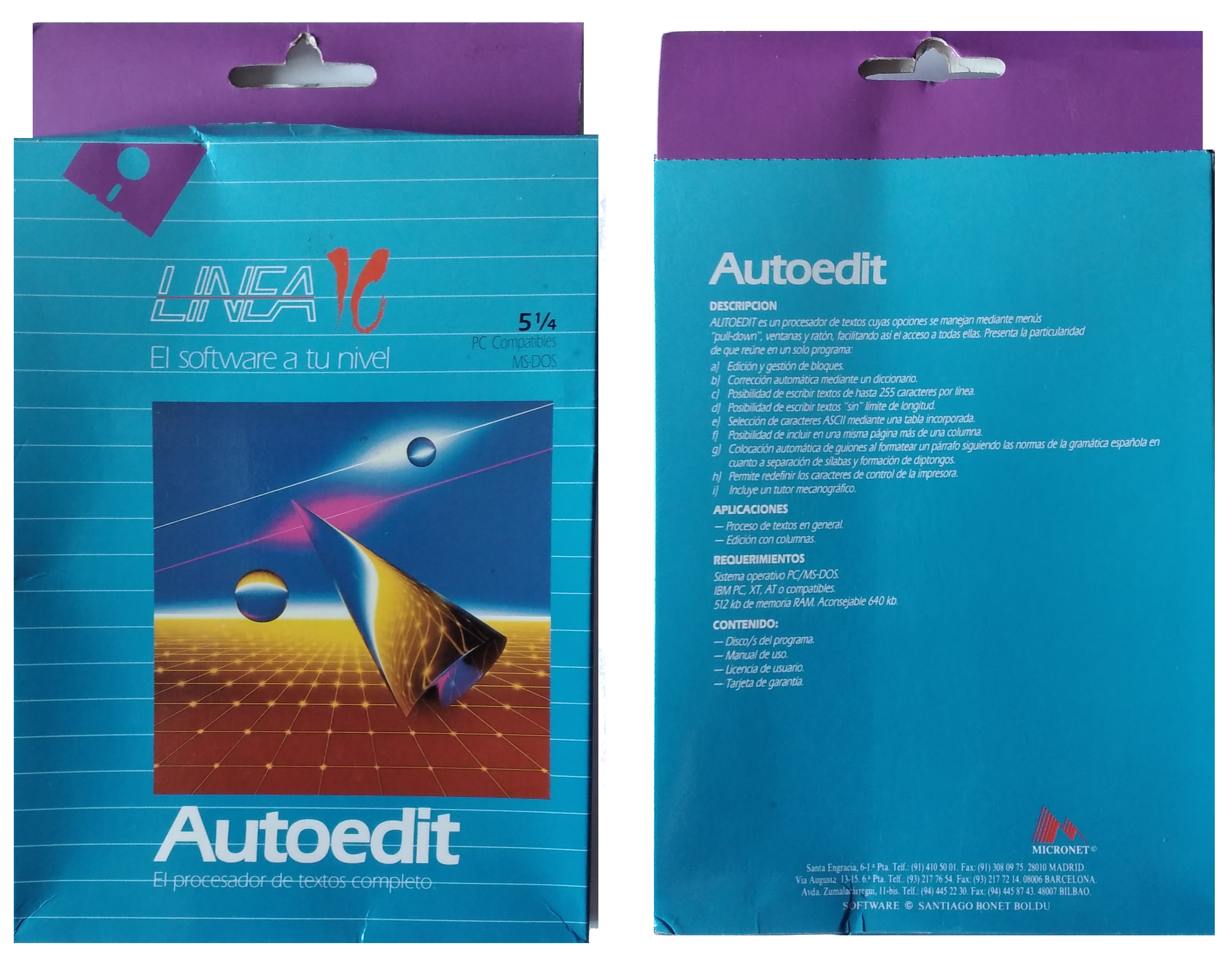 AutoEdit: El procesador de textos completo